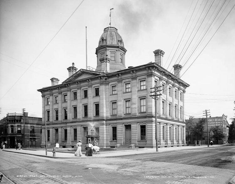 Post Office, Port Huron, Mich
