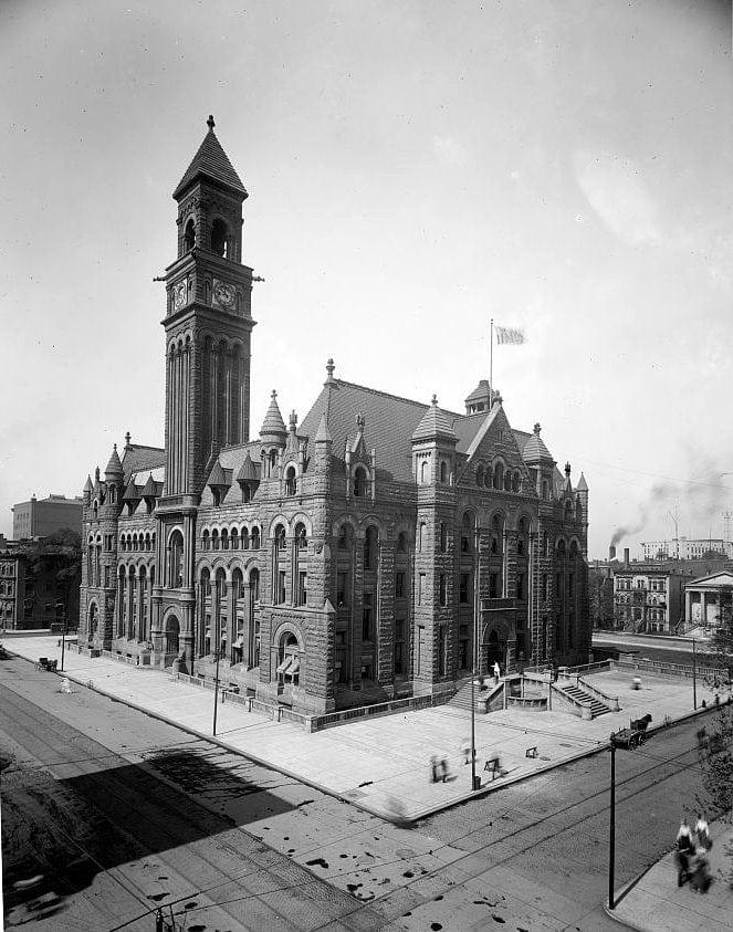 Post office, Detroit, Michigan