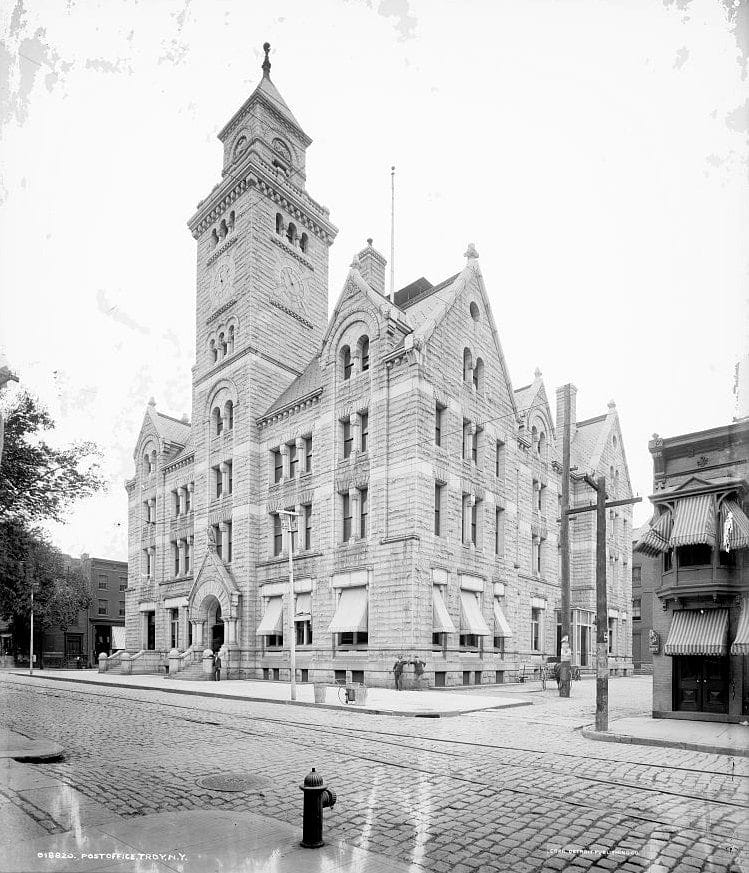 Post office, Troy, N.Y.