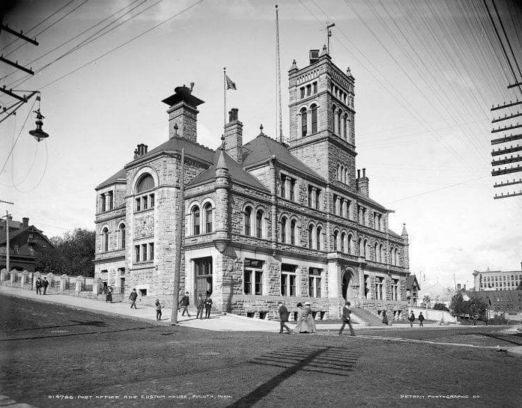 Post office and custom house, Duluth, Minn