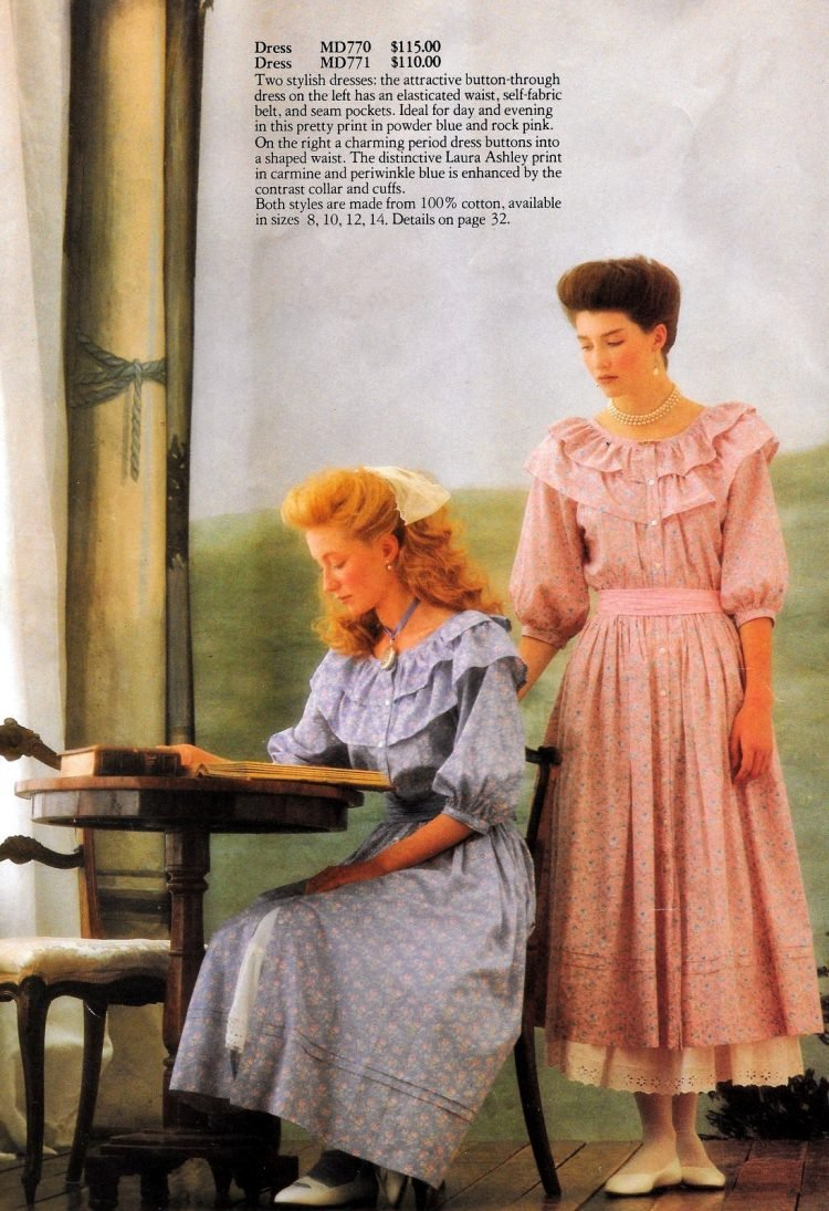 Prairie style, the Laura Ashley way (1983)
