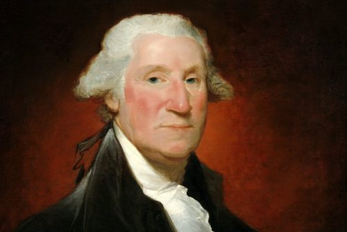 President George Washington - Vaughan portrait