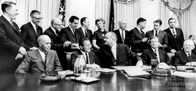 President Johnson and Kerner Commission