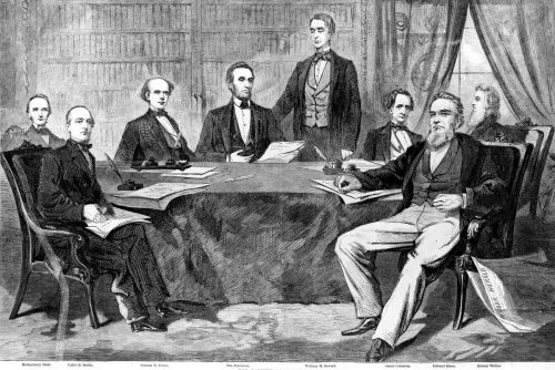 President Lincoln's cabinet 1861