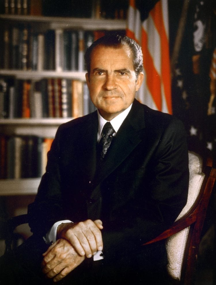 President Richard Nixon - Watergate scandal