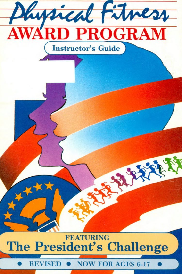Presidential Physical Fitness Award program instructor's guide from 1987