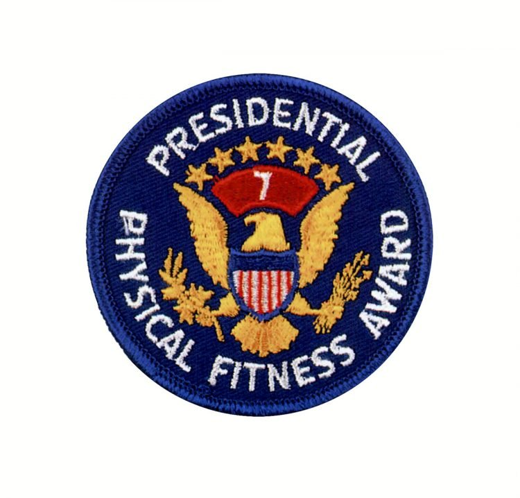 Presidential Physical Fitness Awardfor year 7