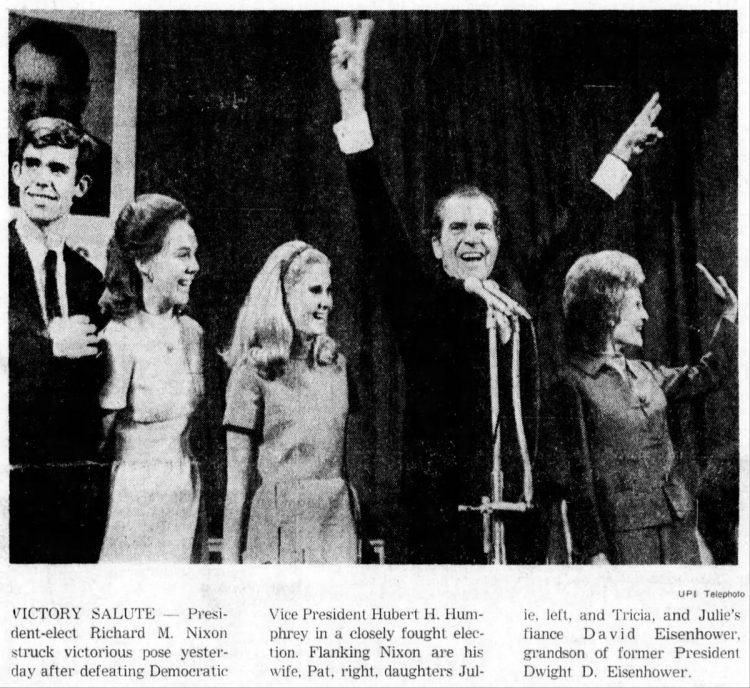 Presidential election 1968 (1)