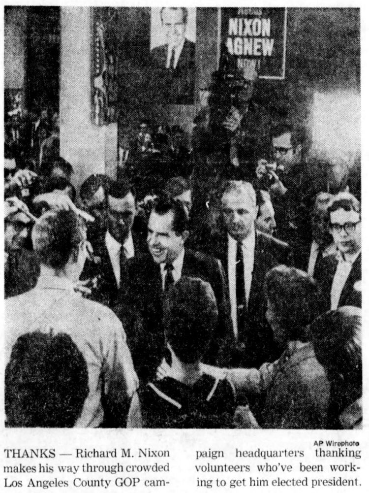 Presidential election 1968 (2)