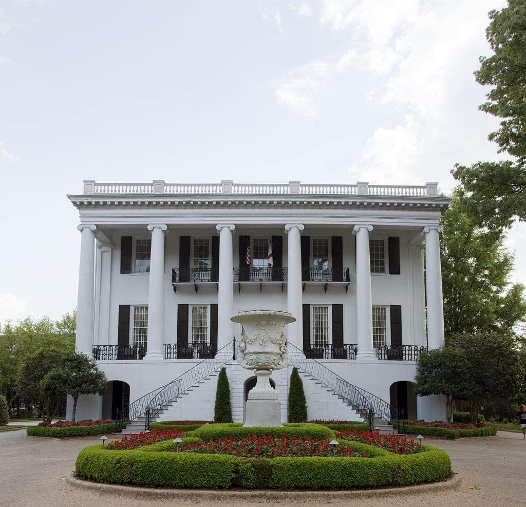 President's mansion, University of Alabama, Tuscaloosa, Alabama