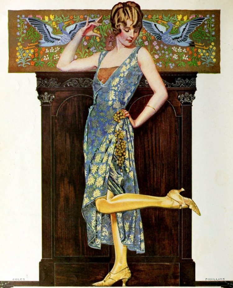 Pretty Vintage 1920s dresses and flapper clothes (1)