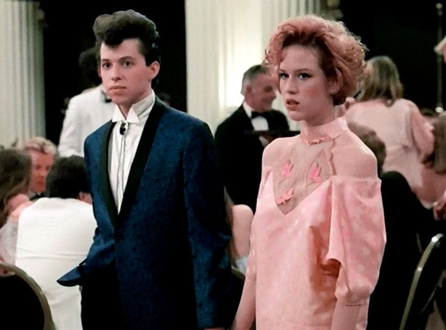 Pretty in Pink - Molly Ringwald prom dress