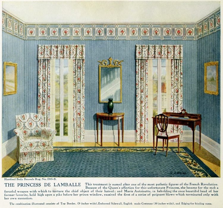 Pretty vintage room layout inspiration from 1915 (11)