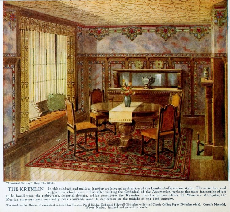 Pretty vintage room layout inspiration from 1915 (2)