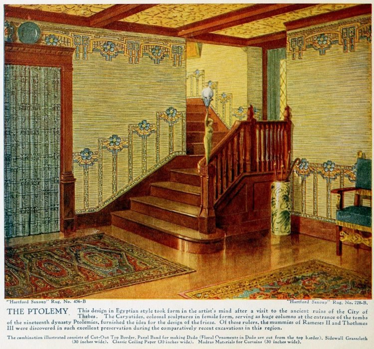 Pretty vintage room layout inspiration from 1915 (6)