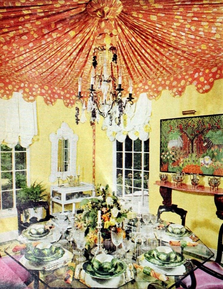 Pretty ways to set the table - Vintage tips from 1976 (11)