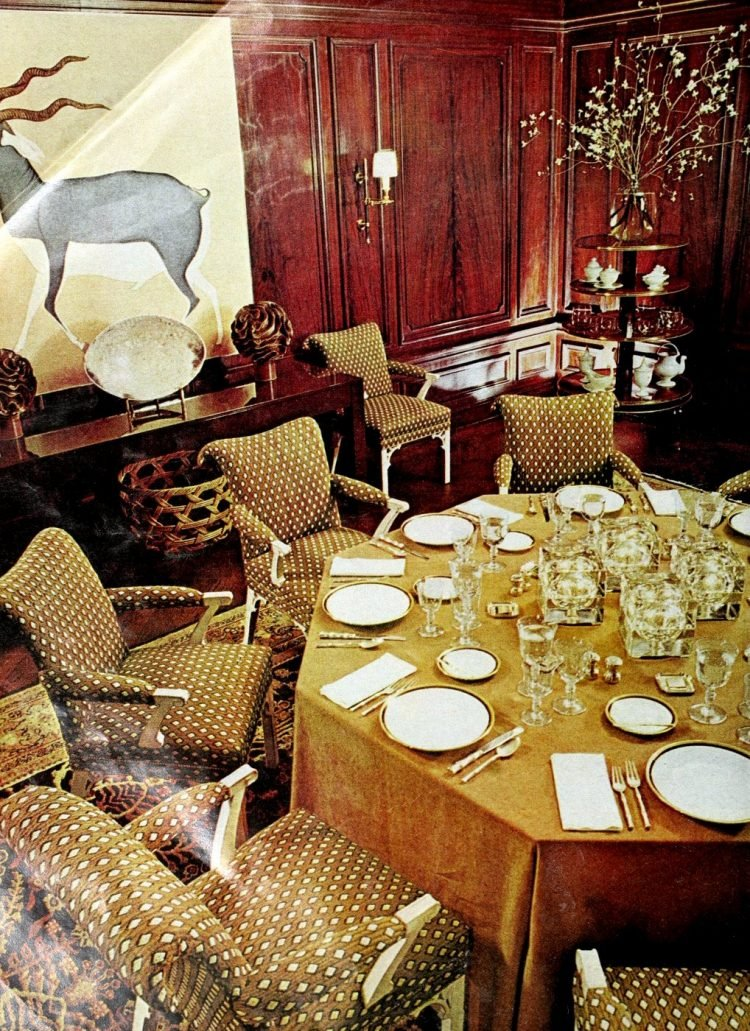 Pretty ways to set the table - Vintage tips from 1976 (12)