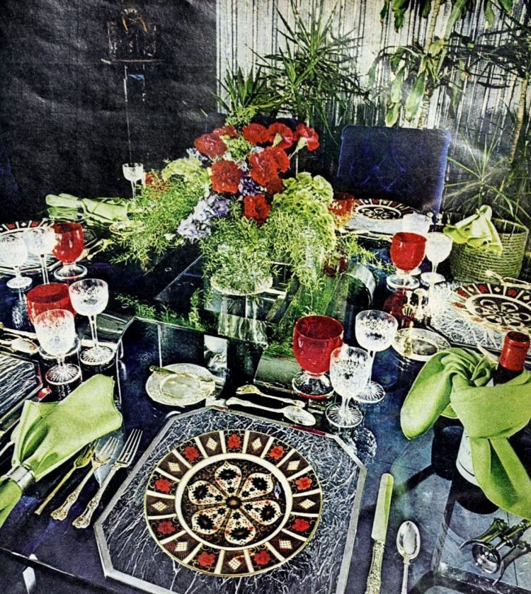 Pretty ways to set the table - Vintage tips from 1976 (13)