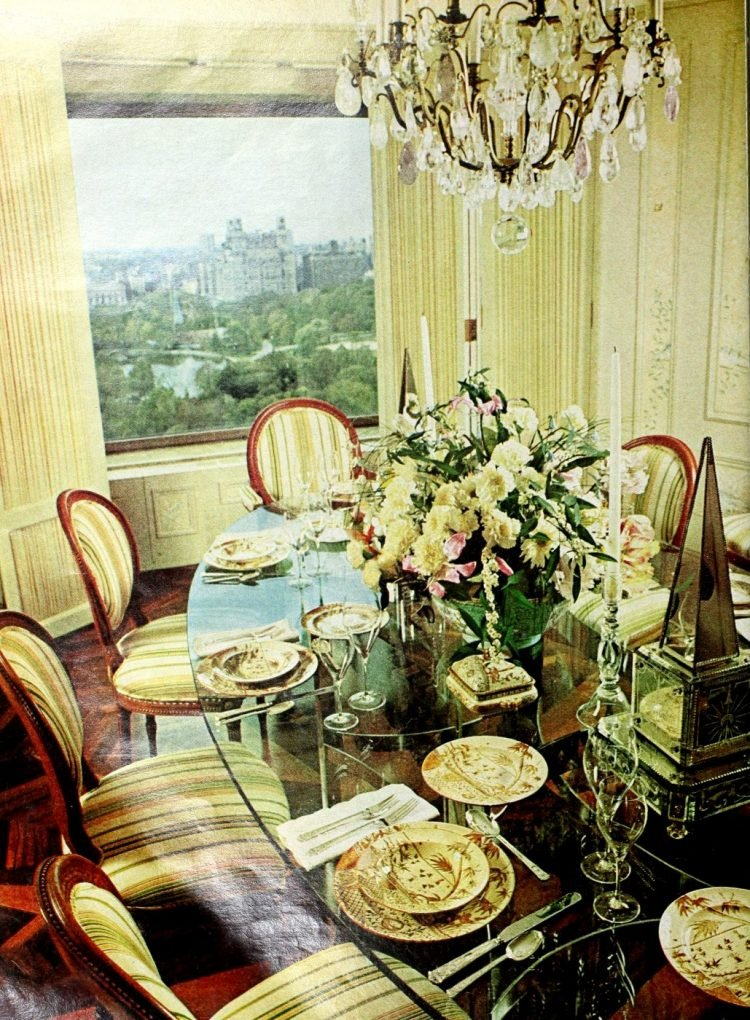 Pretty ways to set the table - Vintage tips from 1976 (4)
