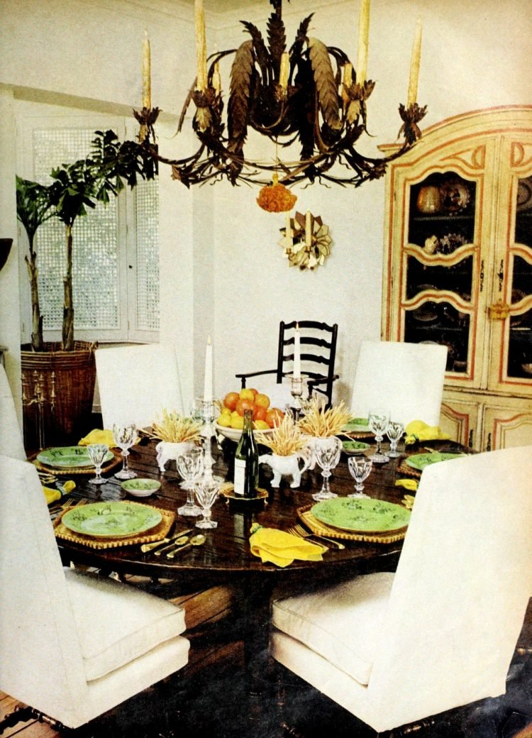 Pretty ways to set the table - Vintage tips from 1976 (7)