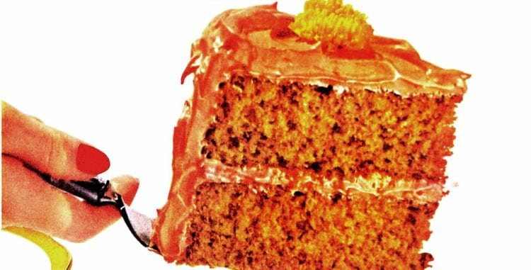 Spice your autumn feasts with Pride O'Pumpkin cake (1953)