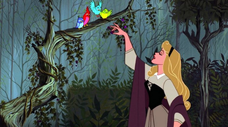 Princess Aurora in Disney's Sleeping Beauty movie - 1959