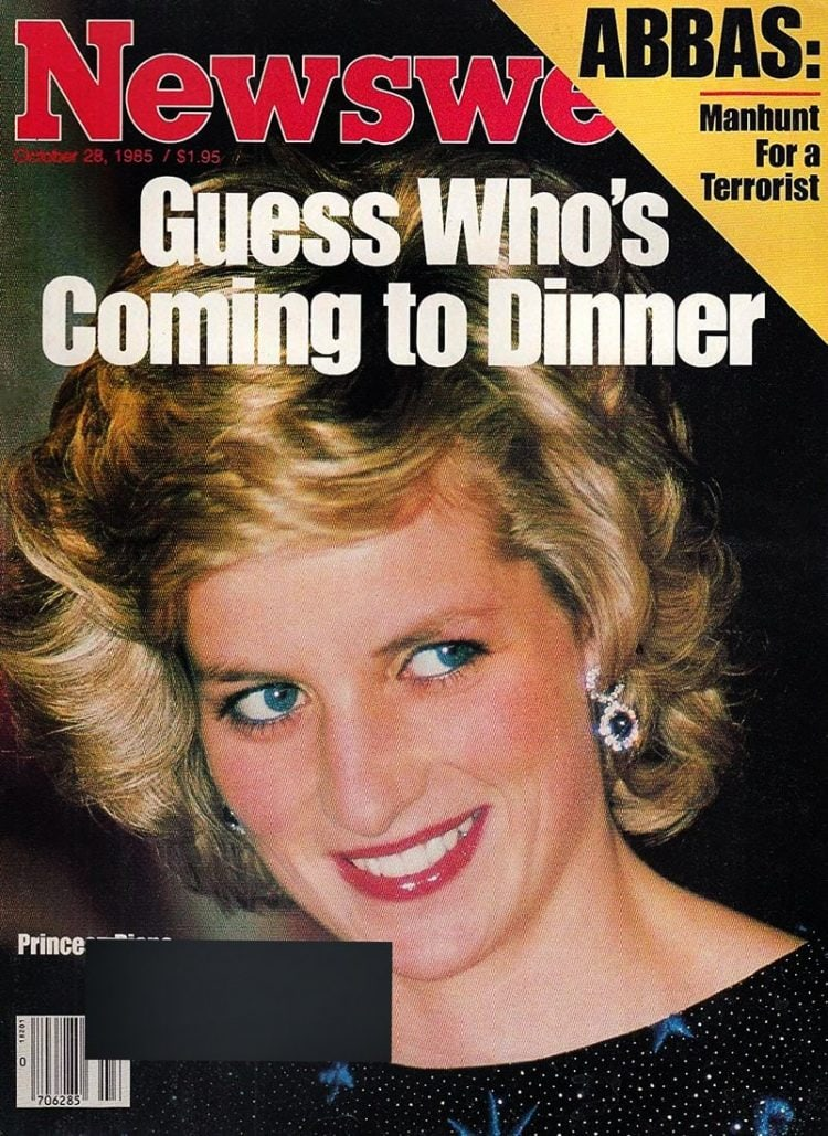 Princess Diana - Newsweek cover - 1985