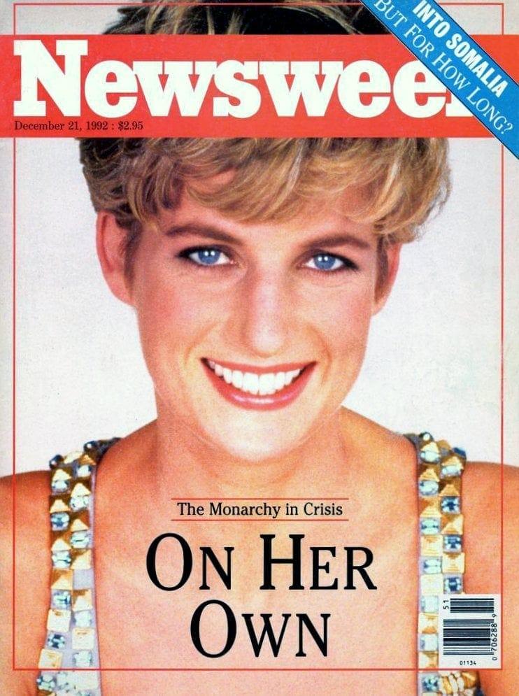 Princess Diana - Newsweek cover - 1992