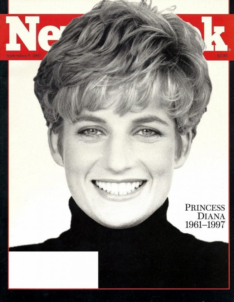Princess Diana - Newsweek cover - 1997