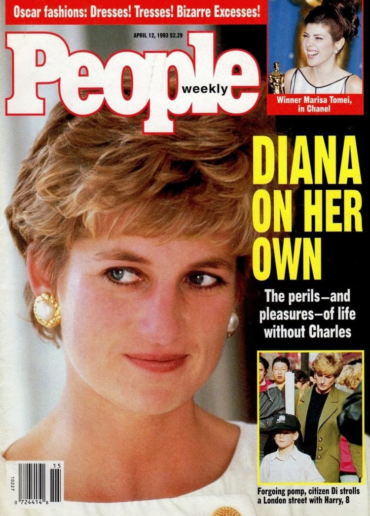 Princess Diana - People magazine cover - April 1993