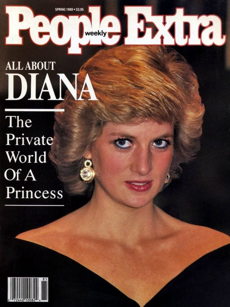 Princess Diana - People magazine extra cover - 1988