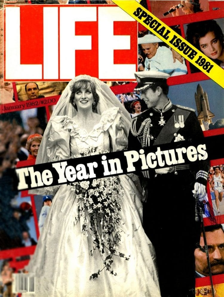 Princess Diana Prince Charles wedding 1982 - Life