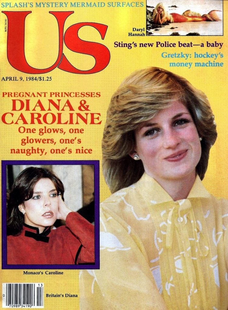 Princess Diana - Us magazine - April 1984