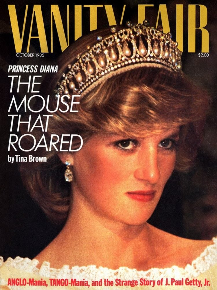 Princess Diana - Vanity Fair - October 1985