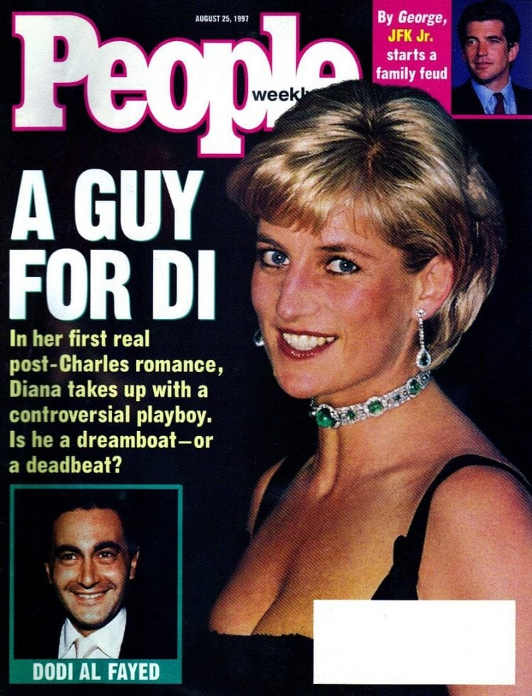 Princess Diana on People Magazine August 25 1997