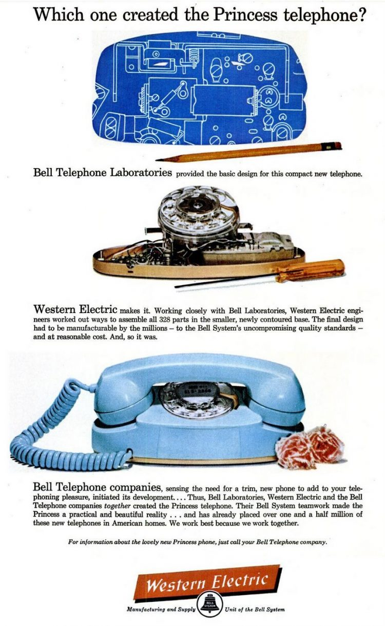 Princess phone - Oct 13, 1961