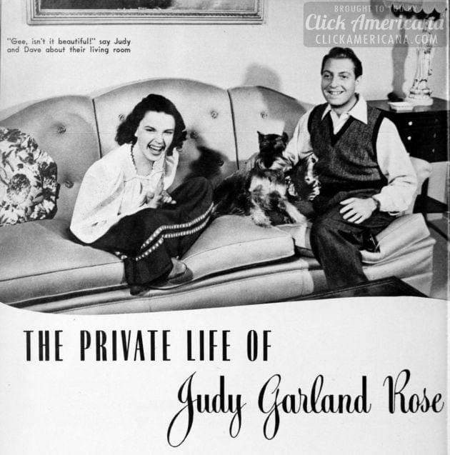 The private life of Judy Garland Rose (1942)
