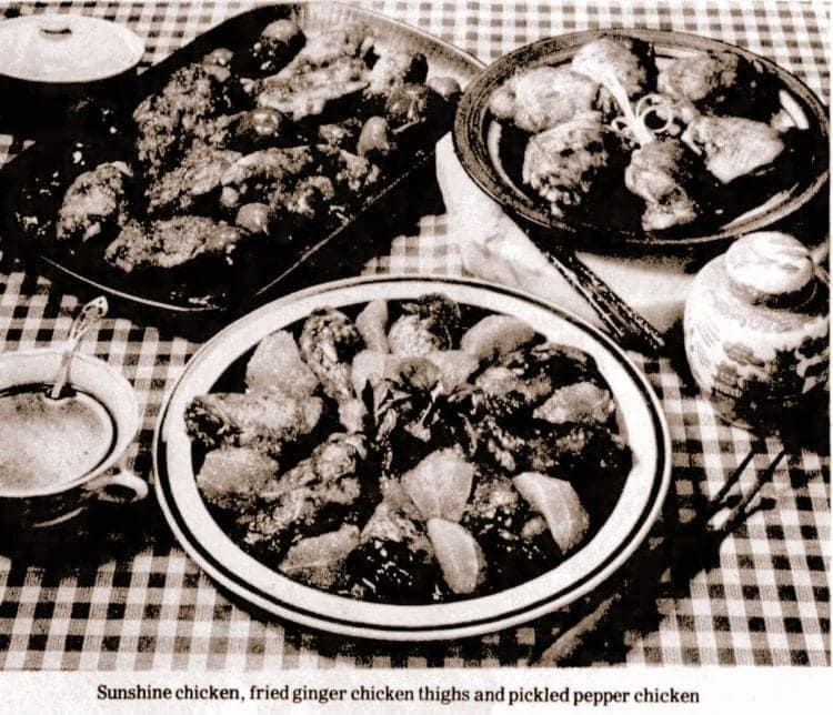 Five fabulous prize-winning chicken recipes (1976)