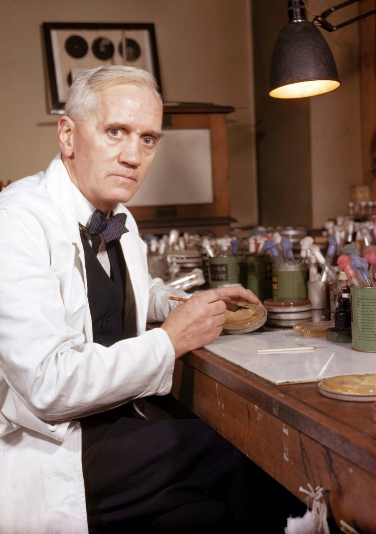 Professor Alexander Fleming who first discovered the Penicillin Notatum