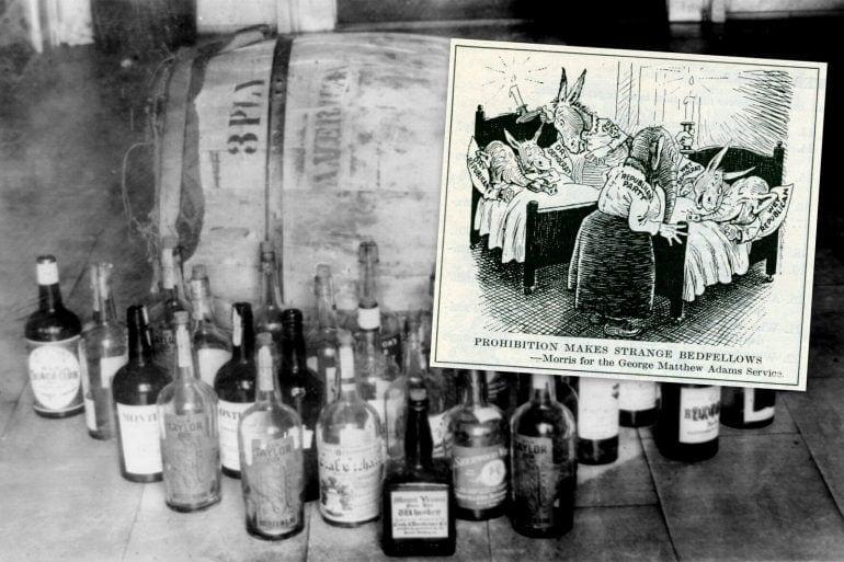 Prohibition political cartoons (1927)