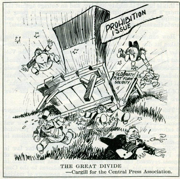 Prohibition political cartoons from 1927 (1)