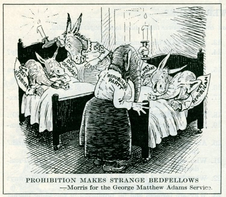 Prohibition political cartoons from 1927 (2)