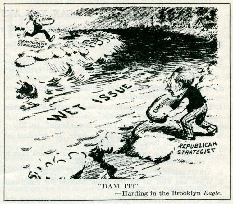 Prohibition political cartoons from 1927 (3)