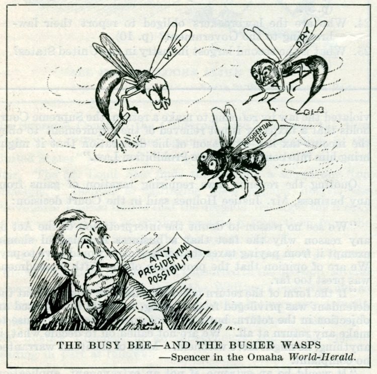 Prohibition political cartoons from 1927 (4)