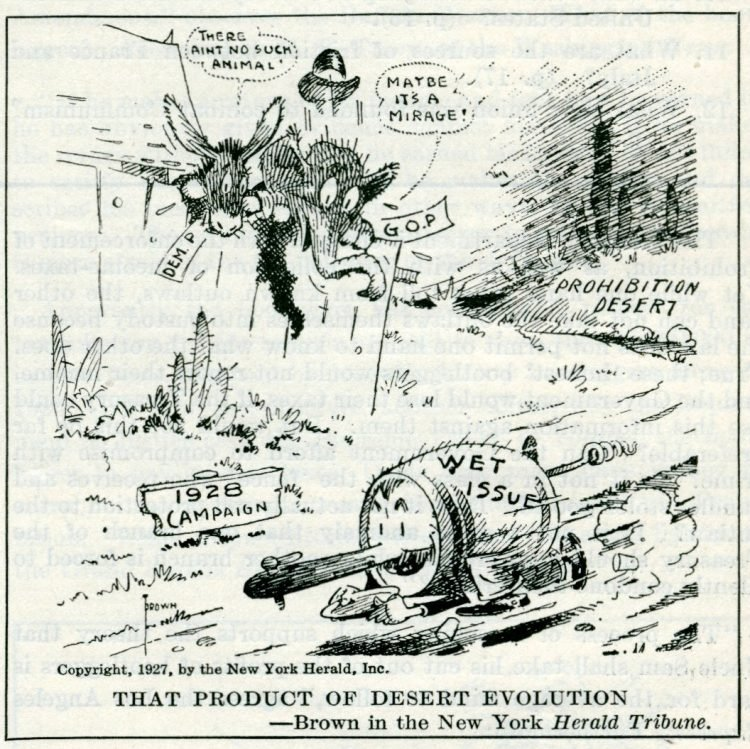 Prohibition political cartoons from 1927 (5)
