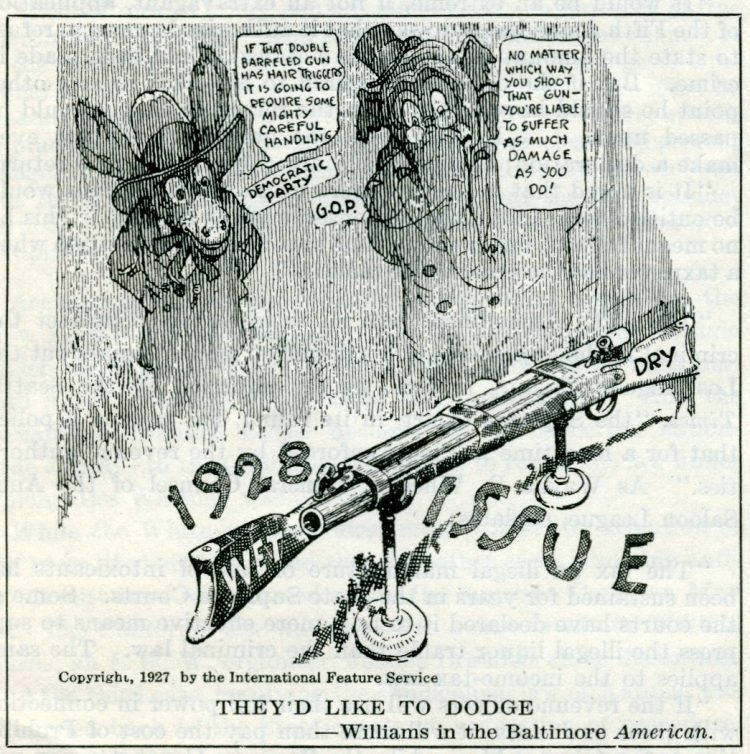 Prohibition political cartoons from 1927 (6)