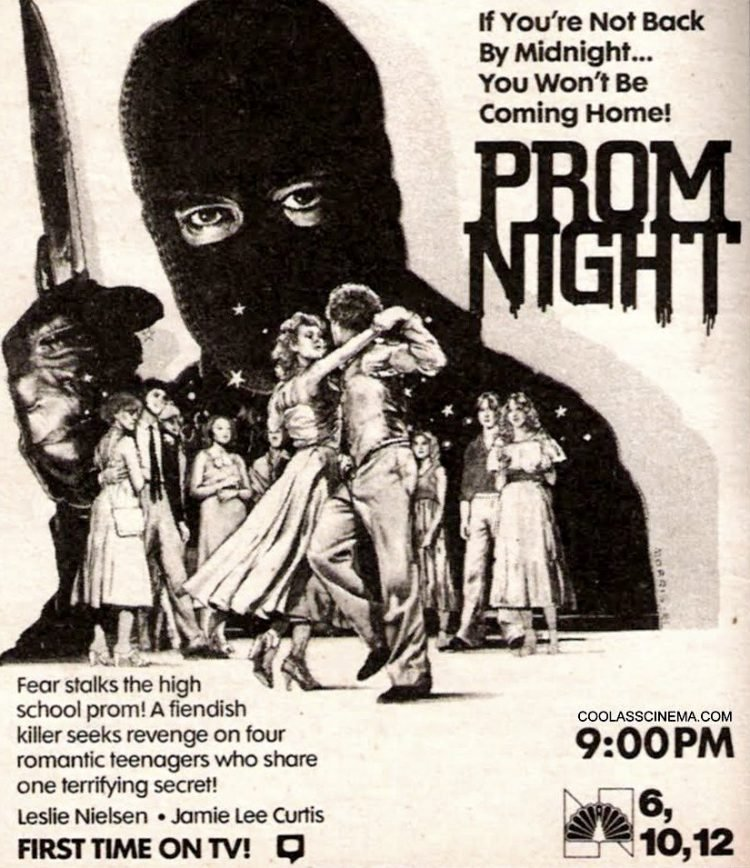 Prom Night movie on TV 1980s