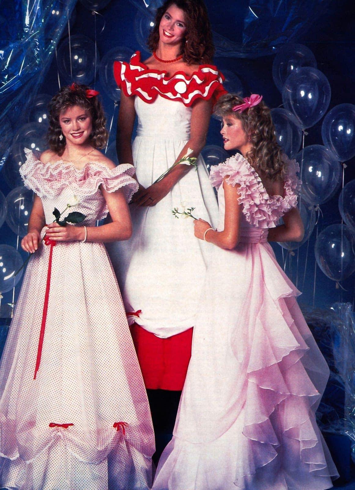 Prom dresses 1984