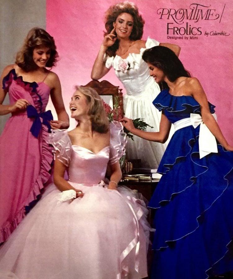 Prom dresses Promtime 1985