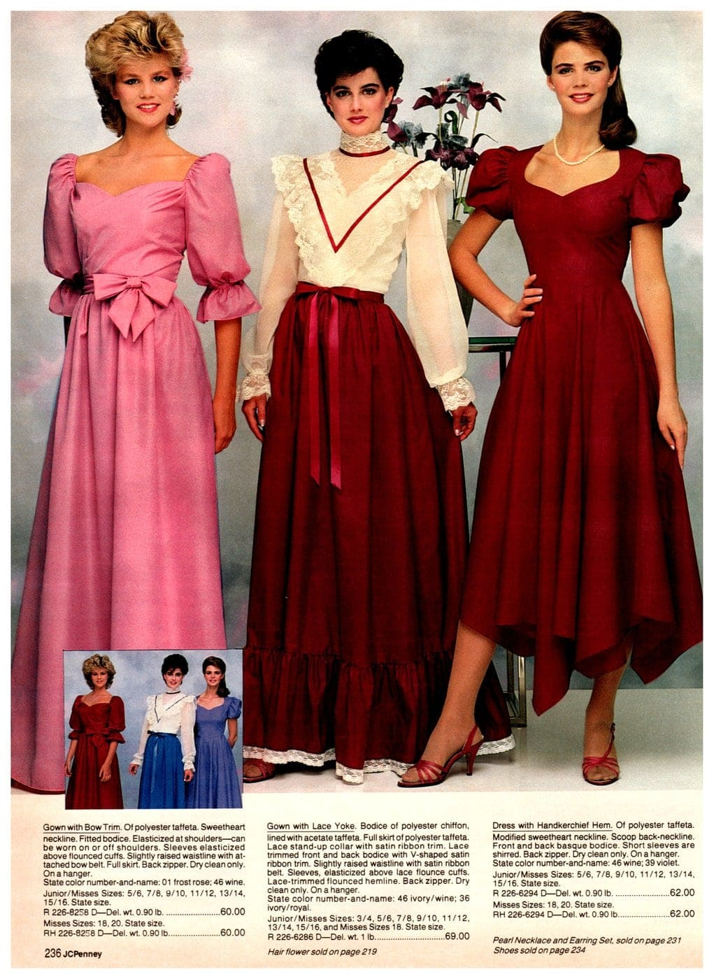Prom dresses from 1983 (2)
